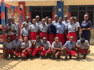 Meet our standard 5 class and their teachers Mrs. Sharon and Mr. Charo. These pupils are our oldest students, most of them joined our school when they were only 4 years old. Now they have grown and improved so much! We are proud of them. #s2skidshomes #dicksoncomprehensiveschool #dicksonacademy #standard5 #school #learning