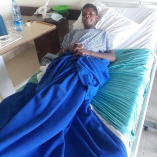 On October 22, around 6 pm several boys from Onesismus Centre, the new boys rescued during Covid-19, were walking from attending a football match back to the center when a group of 10 boys from the village attacked them. As it turned out, a