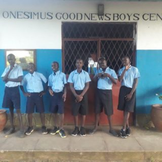 Yes! The schools are finally open again! All our children and teens are so excited to finally go back to school after staying home for almost 10 months. The new boys in OGBC were very eager to start. Don't they look handsome in their uniforms? #s2skidshomes #onesimusboys #s2sfostercare #dicksoncomprehensiveschool #finally #backtoschool #uniform #handsomeboys #excitement